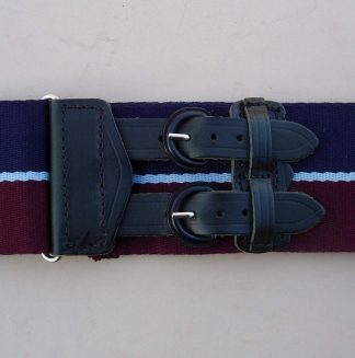 ROYAL AIR FORCE Leather Strap Stable Belt