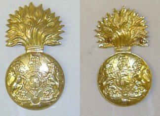 ROYAL SCOTS FUSILIERS KC g/m Glengarry badge re-strike