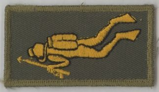 PANAMA FROGMAN - cloth badge
