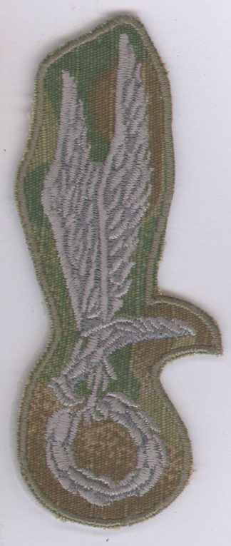 PARACHUTE QUALIFIED WINGS (EAGLE) POLAND cloth