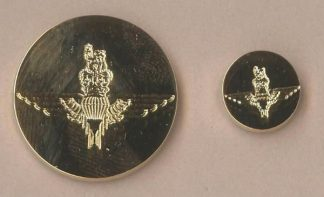 PARACHUTE REGIMENT blazer buttons small