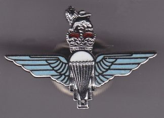 Parachute Regiment Lapel Badge, Enamel Cap Badge QC