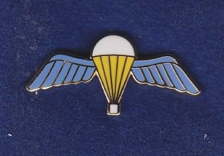 Parachute Regiment Lapel Badge, Enamel Wings