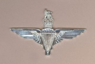 PARACHUTE REGIMENT QC - a/a 'silver' beret badge