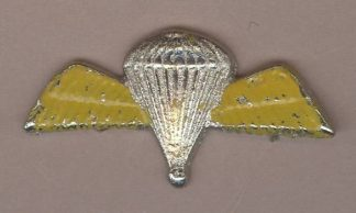 PARACHUTE WINGS cast nickel plate YELLOW