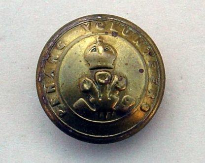 PENANG VOLUNTEERS KC 25mm ORs brass button