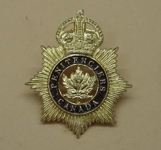 PENITENTIERS CANADA KC a/a cap badge