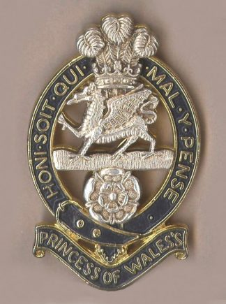 QUEENS - OFFICERS BADGE post 1966