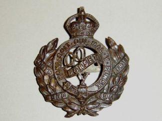 QUEENS OWN DORSET YEOMANRY O.S.D. Bronze cap badge