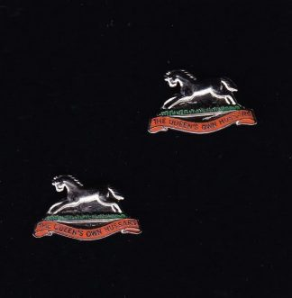 QUEENS OWN HUSSARS - CUFF LINKS