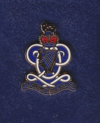 Queens Royal Hussars LAPEL BADGE