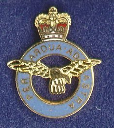 R. A.. F. - LAPEL BADGE