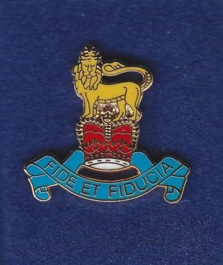 RAPC lapel badge CAP BADGE enamel QC