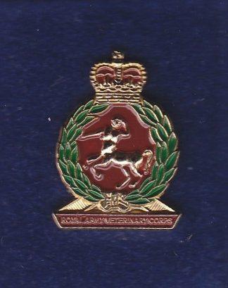 RAVC lapel badge CAP BADGE enamel QC