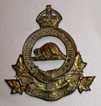 R.C.A.P.C. ROYAL CANADIAN ARMY PAY CORPS KC or's