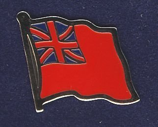 RED ENSIGN - LAPEL BADGE