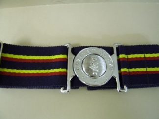 R. E. M. E. Interlocking Buckle Stable Belt