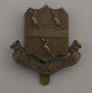 REPTON SCHOOL O.T.C. g/m cap badge