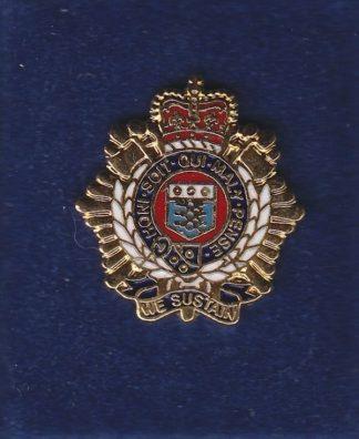 RLC lapel badge CAP BADGE enamel QC