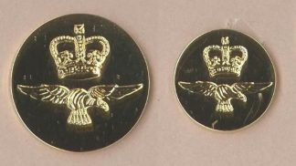 Royal Air Force blazer buttons small