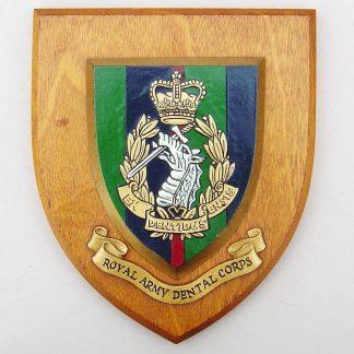 ROYAL ARMY DENTAL CORPS 'EX DENTIBUS ENSIE' wall plaque