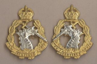 ROYAL ARMY DENTAL CORPS' QC gilt, silver plate Pr