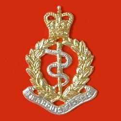 ROYAL ARMY MEDICAL CORPS QC a/a Cap Badge