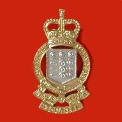 ROYAL ARMY ORDNANCE CORPS QC a/a Cap Badge