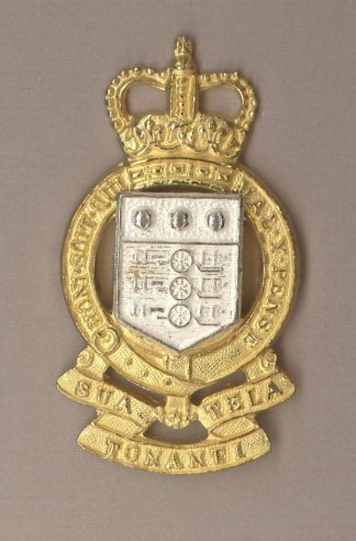 ROYAL ARMY ORDNANCE CORPS QC gilt and Silver plate
