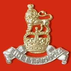 ROYAL ARMY PAY CORPS QC a/a large Cap Badge