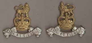 ROYAL ARMY PAY CORPS QC gilt & Silver plate