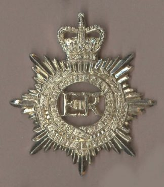 ROYAL ARMY SERVICE CORPS QC a/a cap Badge
