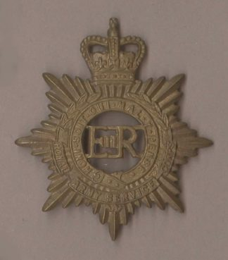 ROYAL ARMY SERVICE CORPS QC ERII Or's g/m 1953-65
