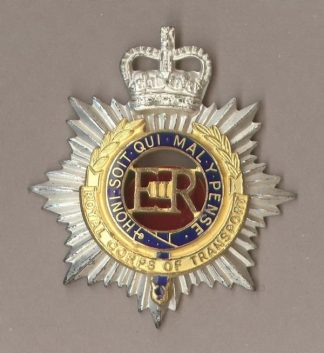 ROYAL ARMY SERVICE CORPS QC Sil.Pl.Gilt.Enamel.