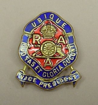 ROYAL ARTILLERY ASSOCIATION - VICE PRESIDENT KC