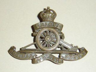 ROYAL ARTILLERY KC O.S.D. cap badge