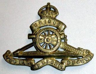 ROYAL CANADIAN ARTILLERY KC g/m cap badge
