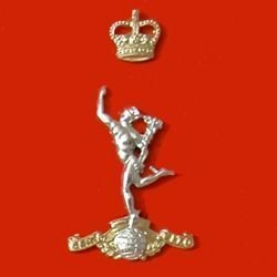 ROYAL CORPS of SIGNALS QC a/a Cap badge