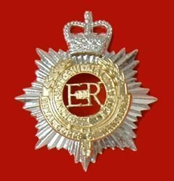 ROYALCORPS OF TRANSPORT QC a/a Cap Badge