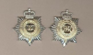 ROYAL CORPS OF TRANSPORT QC a/a collar digs, pair