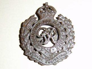 ROYAL ENGINEERS GRVI O.S.D. cap badge