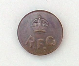 ROYAL FLYING CORPS 25mm officers g/m button