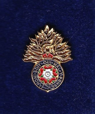 ROYAL FUSILIERS - LAPEL BADGE