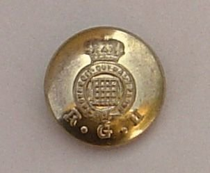 ROYAL GLOUCESTERSHIRE HUSSARS 24mm ORs BUTTON