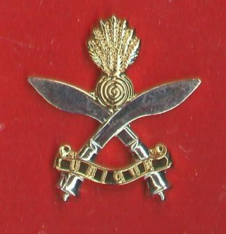 ROYAL GURKHA ENGINEERS - or's sil gilt. c/b
