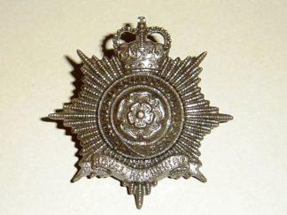 ROYAL HAMPSHIRE REGIMENT QC OSD Bronze cap badge