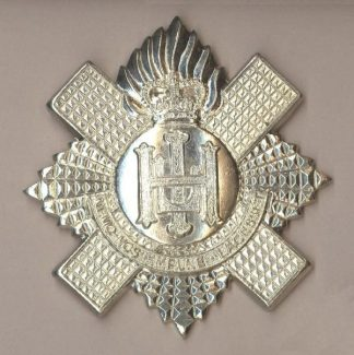 ROYAL HIGHLAND FUSILIERS QC Pipers Bonnet Badge