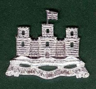 ROYAL INNISKILLING FUSILIERS Pipers badge