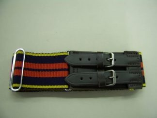 Royal Logistic Corps Leather Straps Stable Belt