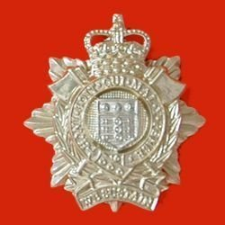 ROYAL LOGISTICS CORPS  QC a/a Cap Badge Ist pat.